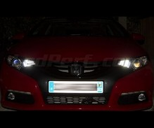 Pack sidelights LED (xenon white) for Honda Civic 9G