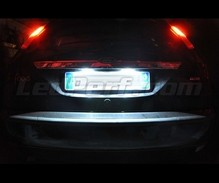 Pack LED License plate (Xenon White) Ford Focus MK1