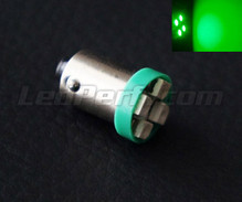 H6W LED - BAX9S Base - Green - Efficacity