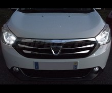 Pack sidelights LED (xenon white) for Dacia Lodgy