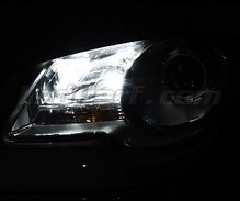 Pack sidelights led (xenon white) for Volkswagen Touran V1/V2