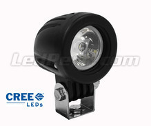Additional LED Light CREE Round 10W for Motorcycle - Scooter - ATV