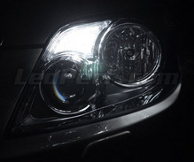 Pack sidelights LED (xenon white) for Toyota Land Cruiser KDJ 150