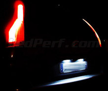 Pack LED (pure white) rear license plate Citroen C4 Picasso