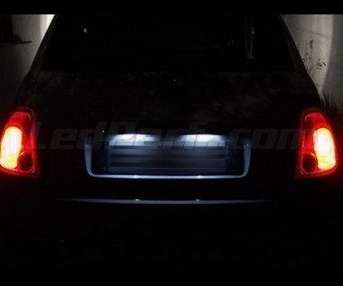 Pack Led License Plate Fiat 500 Abarth 500