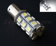 P21W bulb to 24 white LEDs High Power Socket BA15S