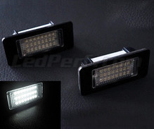 Pack of 2 LEDs modules license plate for Audi A3 8V