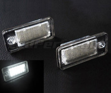 Pack of 2 LEDs modules license plate for Audi A4 B6