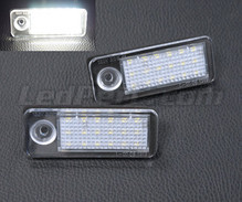 Pack of 2 LEDs modules license plate for Audi A6 C5