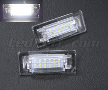 Pack of 2 LEDs modules license plate for Audi TT 8N
