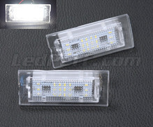 Pack of 2 LEDs modules license plate for BMW X3 (E83)