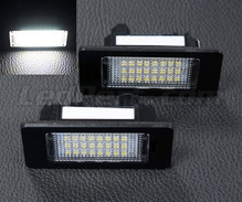Pack of 2 LEDs modules license plate for BMW X3 (F25)