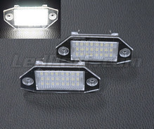 Pack of 2 LEDs modules license plate for Ford Mondeo MK3