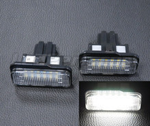 Pack of 2 LEDs modules license plate for Mercedes Classe C (W203)