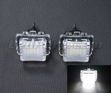 Pack of 2 LEDs modules license plate for Mercedes Classe C (W204)
