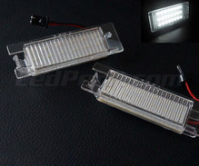 Pack of 2 LEDs modules license plate for Opel Corsa D