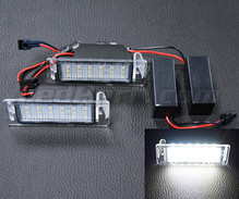 Pack of 2 LEDs modules license plate for Opel Mokka