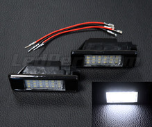 Pack of 2 LEDs modules license plate for Peugeot 1007