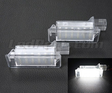Pack of 2 LEDs modules license plate for Renault Latitude