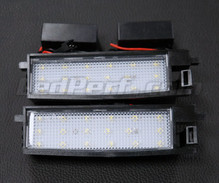 Pack of 2 LEDs modules license plate for Toyota Auris MK2