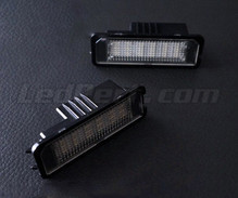 Pack of 2 LEDs modules license plate for Volkswagen Golf 5