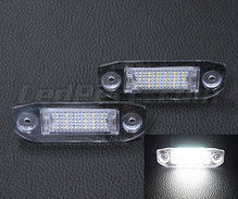 Pack of 2 LEDs modules license plate for Volvo V70 III