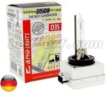 Bulb Alpha-Lights Xenon D3S 4300K SUPER VISION ULTRA - Made in Germany