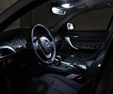 Pack interior Full LED (Pure white) for the BMW 1 Series F20 F21