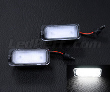 Pack of 2 LEDs modules license plate for Jaguar XF