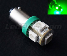 H6W LED - BAX9S Base - Green - Xtrem