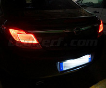 LED Licence plate pack (xenon white) for Opel Insignia