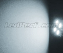 Pack sidelights LED (xenon white) for Opel Vectra B
