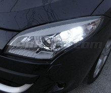 Pack LED daytime running lights (DRL) xenon white for Renault Scenic 3