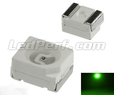 50 TL SMD LED - Green - 140mcd