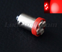 LED T4W - BA9S Base - Red - efficacity