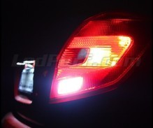 Pack LEDs (white 6000K) backup lights for Skoda Fabia 2