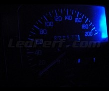 Kit blue LED meter for Renault Clio 1 (without tachometer)