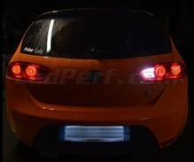 Pack LEDs (white 6000K) backup lights for Seat Leon 2 (1P) / Altea