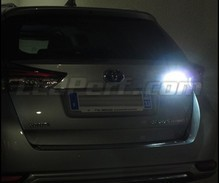 Pack LEDs (white 6000K) backup lights for Toyota Auris MK2