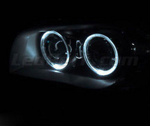 Pack LED angel eyes (Pure White) for BMW 1 Phase 1 - Standard