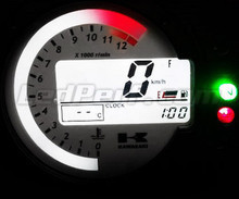 Led type 4 meter kit for Kawasaki zx6r Mod. 2003-2004
