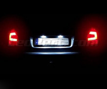 Pack LED (6000K pure white) rear license plate Skoda Fabia 2 Facelift
