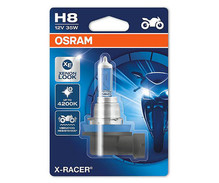 H8 Bulb Osram X-Racer Halogen Xenon Effect for Motorcycle - 35W