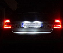 LEDs Pack (white 6000K) license plate for Skoda Octavia 3 (5E)