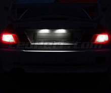 Pack LED License plate (pure white) for Mitsubishi Lancer Evo 5