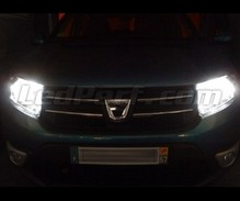 Pack Xenon Effects headlight bulbs for Dacia Sandero