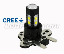 PH16W LED Bulb with 10 High Power White CREE LED Chips - Canbus Without OBC Error