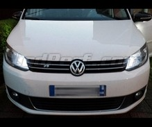 Pack Xenon Effects daytime (DRL) and Hi-beam H15 bulbs for Volkswagen Touran 3