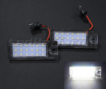 Pack of 2 LEDs modules license plate for Volvo V40