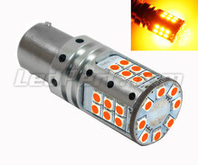 Orange P21W LED Bulb Xtrem Canbus 32 Leds - Ultra Powerful - Base BA15S